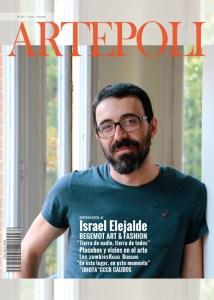 Revista de arte teatro, y opinion, en portada israel elejalde