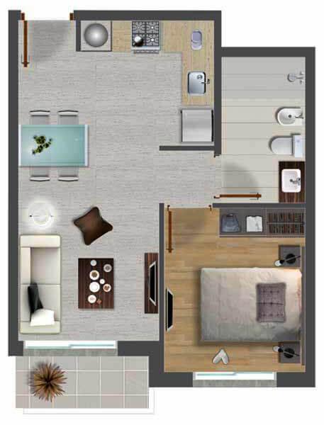 Últimas unidades! 1 Dormitorio en Town Park desde US$ 103.000 ...