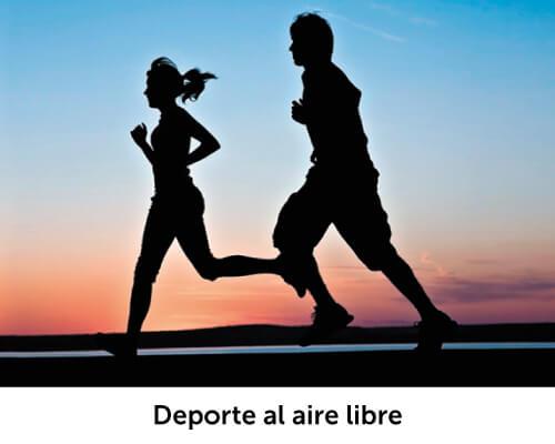 entorno deporte al aire libre
