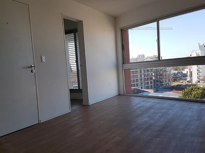 Citadino Oriental 2 dormitorios living