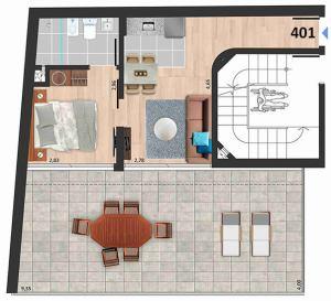 Soleil Playa 1 dormitorio 401