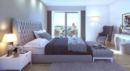 En Pocitos Nuevos apartamento con Patio y Terraza al frente