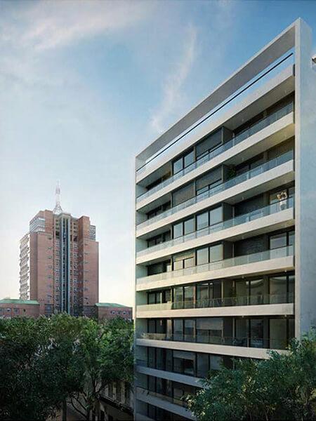Quadra Centrum - Fachada 2 dormitorios penthouse en centro