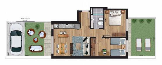 Cenit 2 dormitorios 002