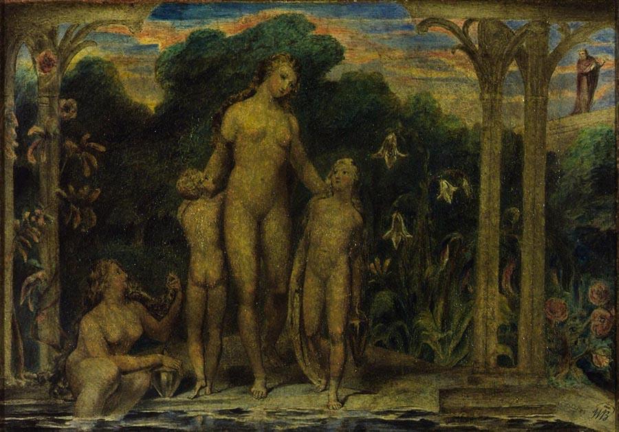Romantismo; Betsabé no Banho (1800)