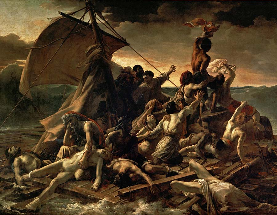 Romantismo; Jangada da Medusa (1819)