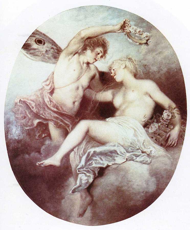 obras de arte perdidas: Primavera de Jean-Antoine Watteau, 1716