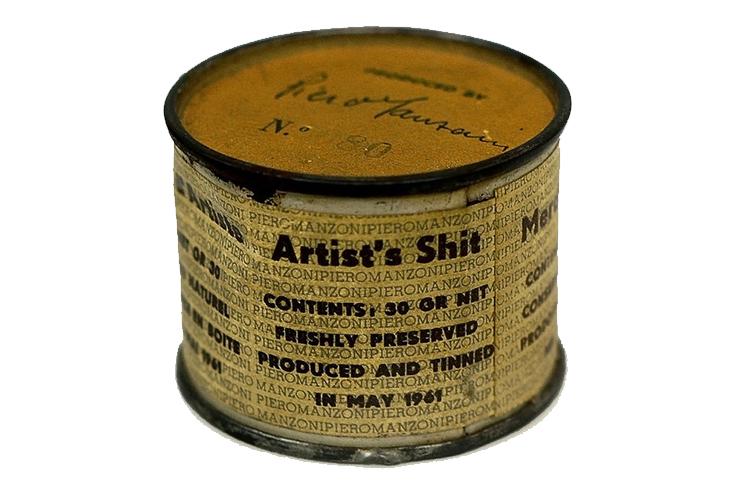 Piero Manzoni: Artist's Shit, literalmente!