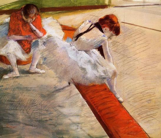Edgar Degas. Dancers Resting