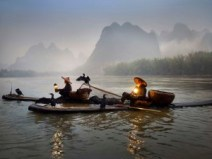 the last fishermen at li river weerapong