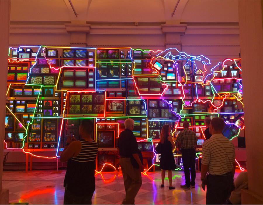 Algumas das obras sensacionais da coleção de arte no American Art Museum