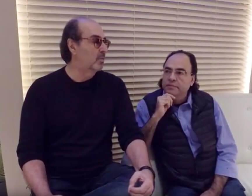 Recaptulando a entrevista com Nelson Cimino e Roberto Amorim na Casa Cor 2016
