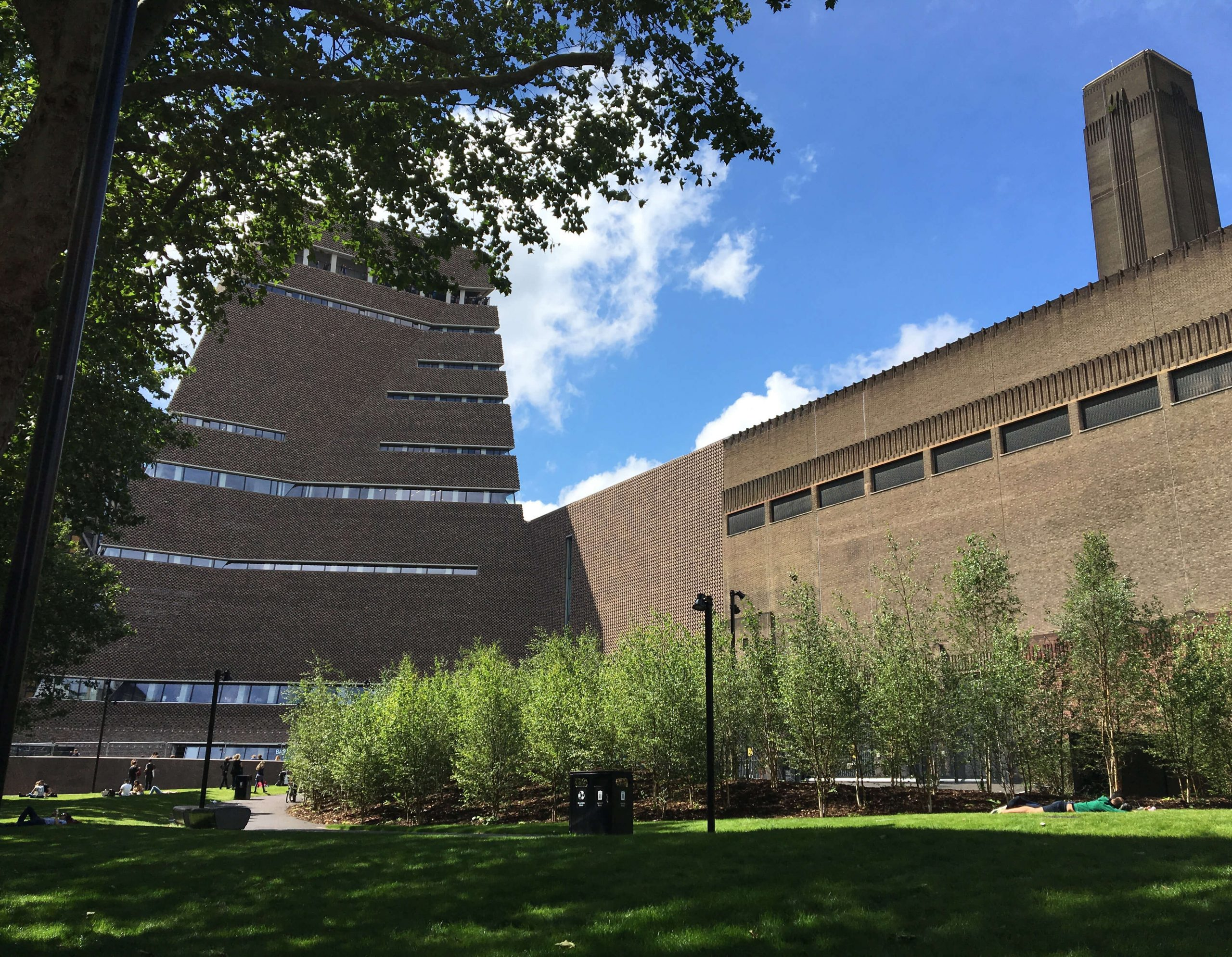 Um passeio pela nova Tate Modern