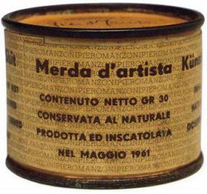 Piero Manzoni – Merda d'artista – 1961