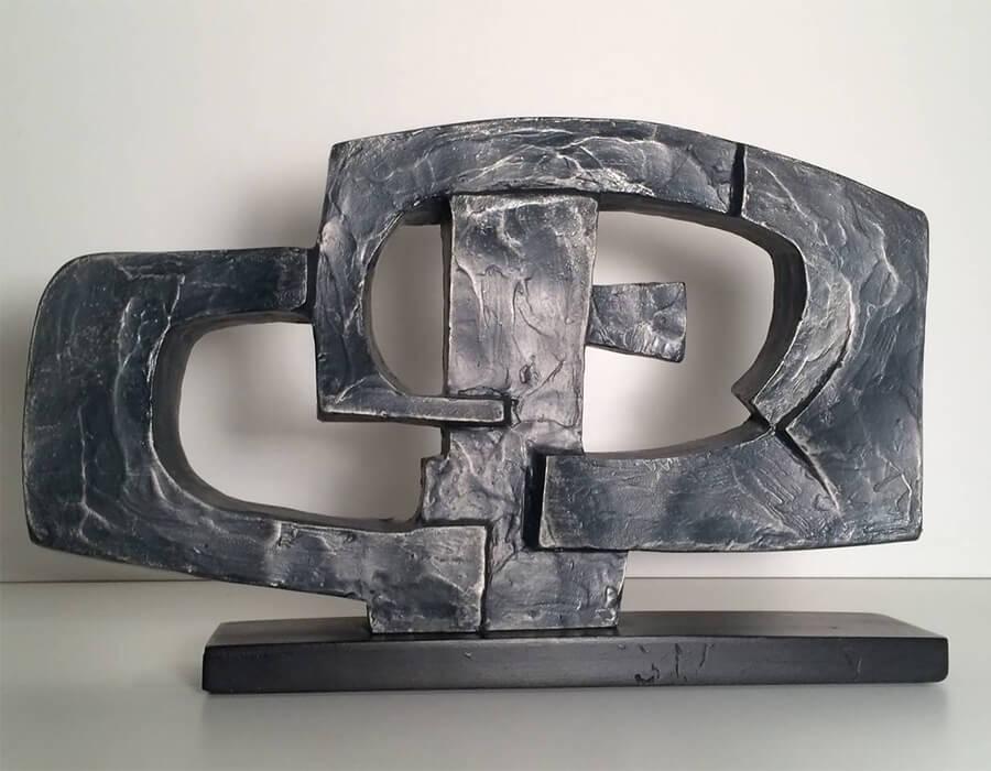 expressionismo abstrato; dorothy-dehner-escultura-1969