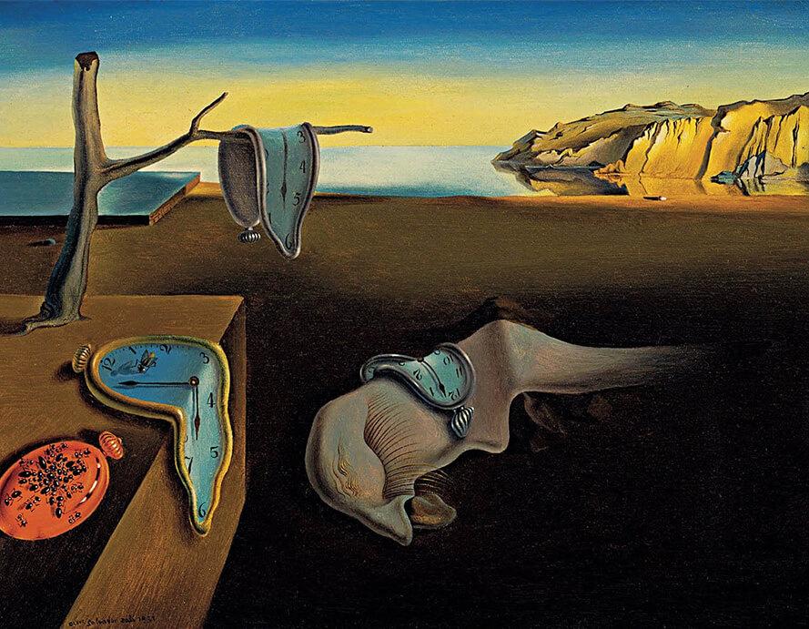 artistas surrealistas; salvador-dali