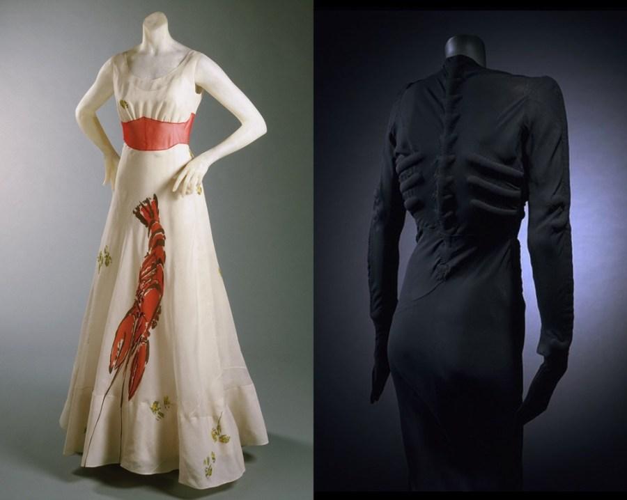 As obras surrealistas de Salvador Dalí inspiraram Elsa Schiaparelli, a estilista criadora do rosa-choque