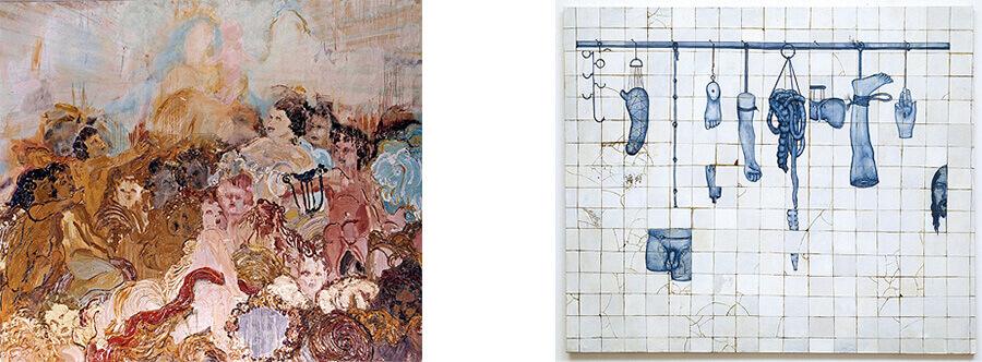 artistas brasileiros; Anjos (1988) | Varal (1993)