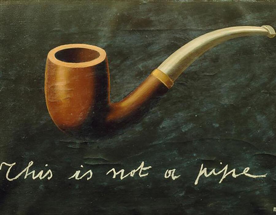 Isto não é um cachimbo: Como o surrealista belga Magritte nos fez repensar a realidade