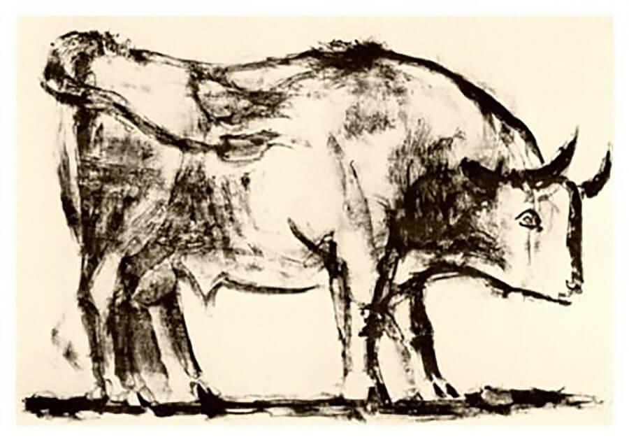 El toro de Picasso 1
