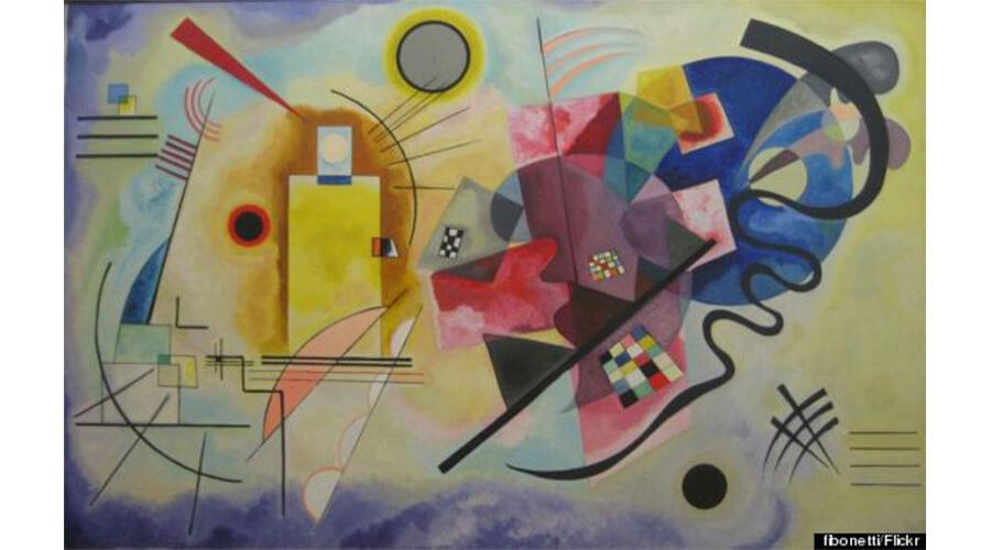 Wassily Kandinsky: arte abstrata