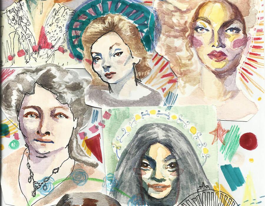 Quantas mulheres artistas você tem guardadas na memória?