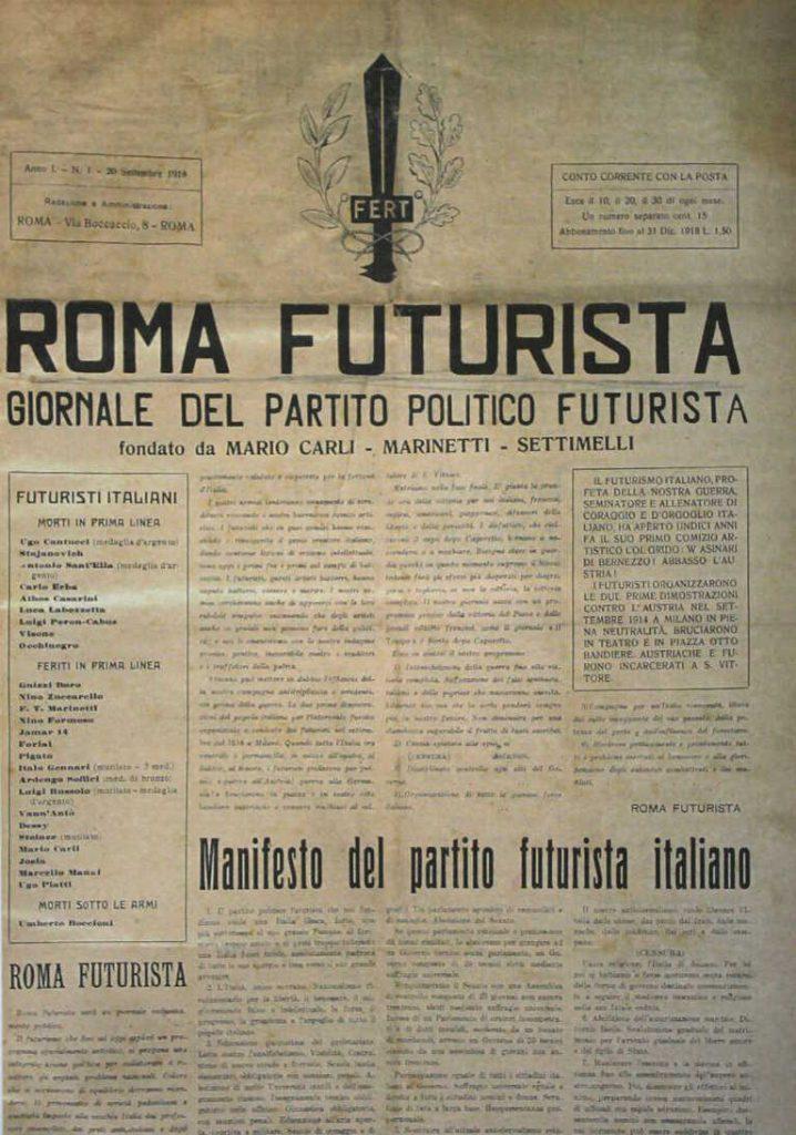 jornal roma futurista