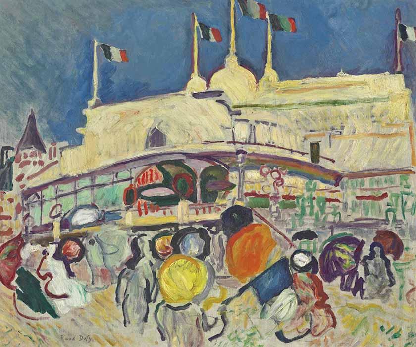 fauvismo; Raoul Dufy; O Casino (1906)