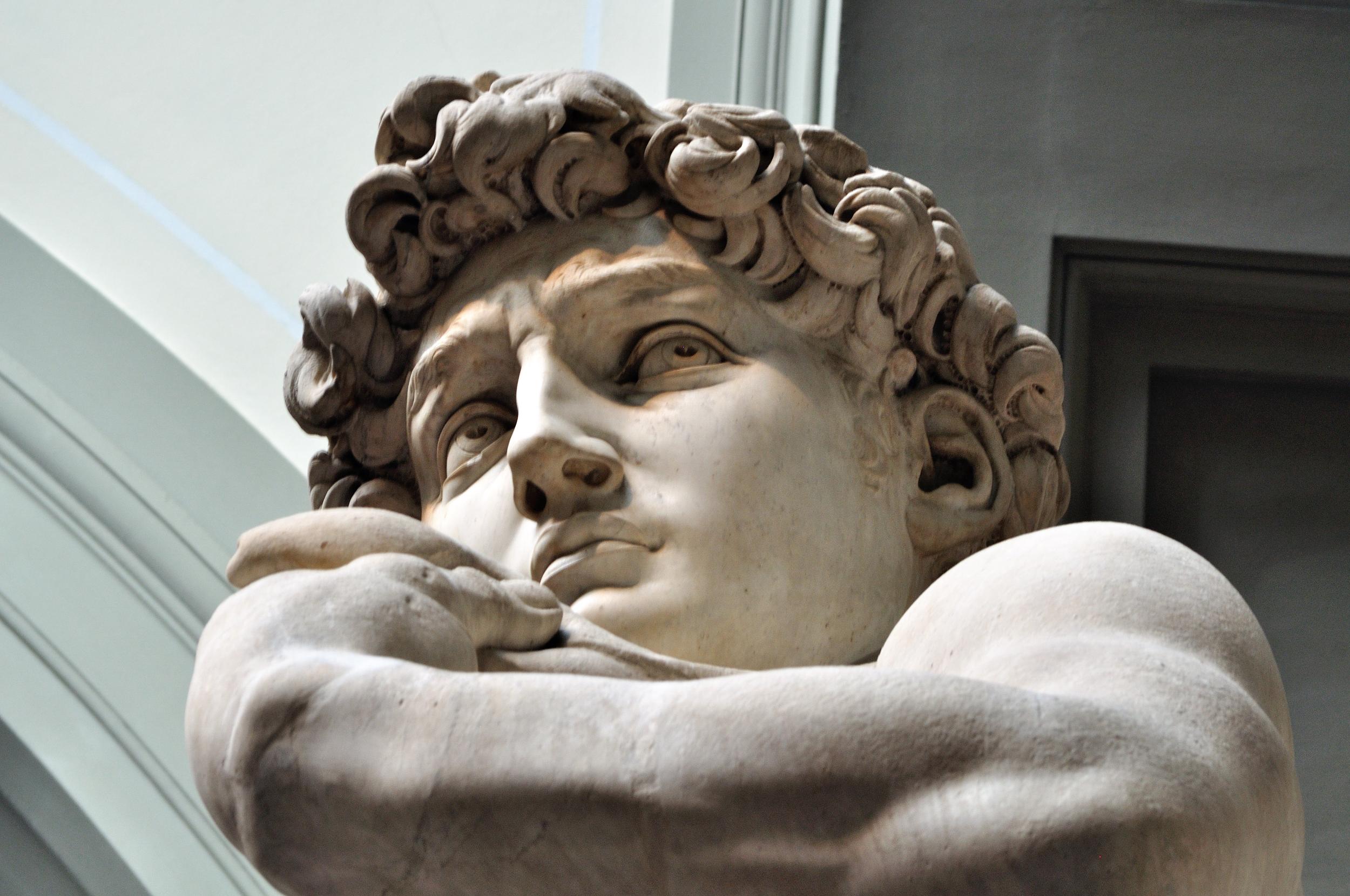 O David de Michelangelo era para ser Hércules, saiba o por quê