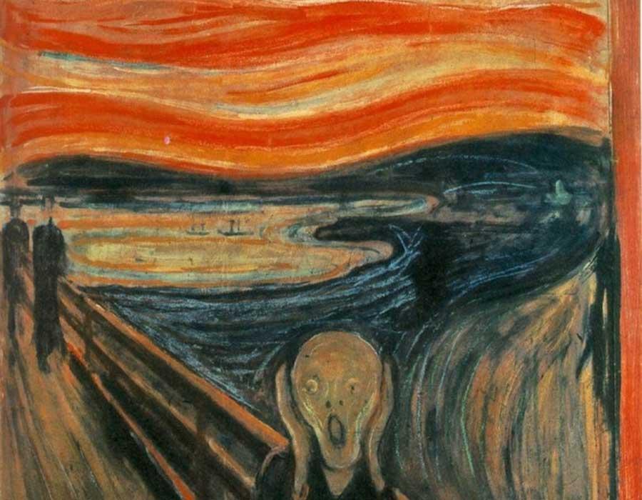 Por que o Grito de Munch tinha o céu vermelho?