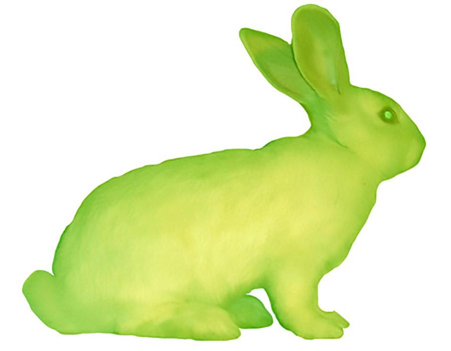 O coelho fluorescente de Eduardo Kac
