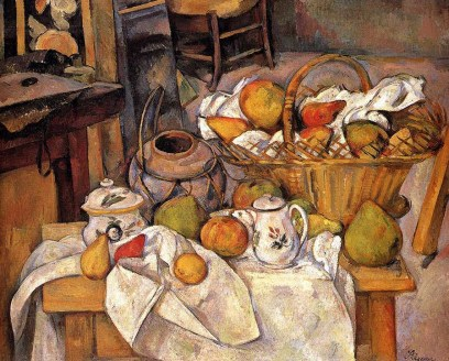 Paul Cézanne. Kitchen Table.
