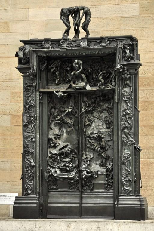 Zürich Kunsthaus O pensador, de Auguste Rodin