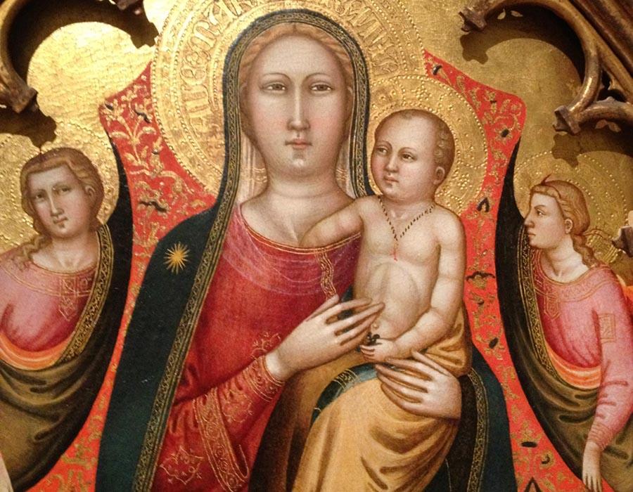 Por que os bebês nas pinturas medievais parecem homens velhos e feios?