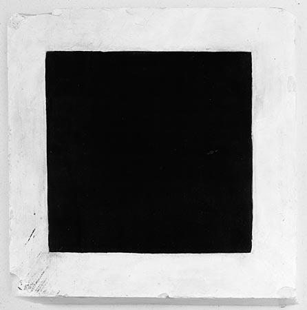 Vanguarda Russa; Kazimir Malevich. Quadro Negro sobre fundo Branco (1915) | Galeria Tretiakov, Moscou