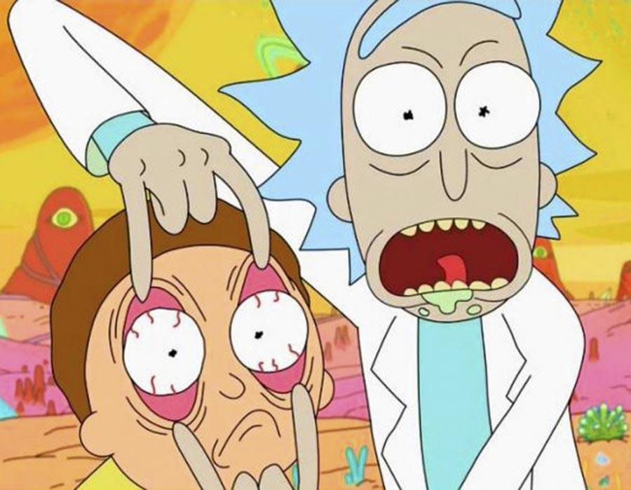 Rick e Morty e a ligação com Sartre, Nietzsche e Camus