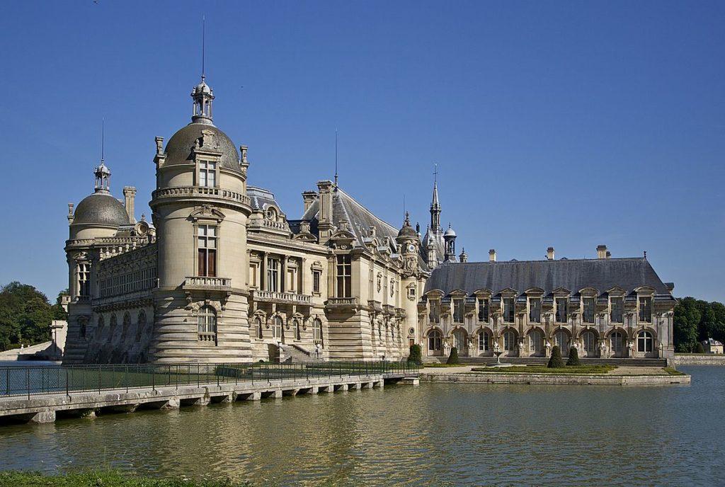 Castelo de Chantilly. Paris