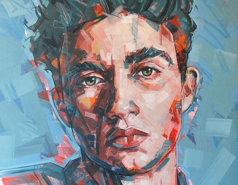 Robert Hewer: Os rostos e corpos vistos pelos artista