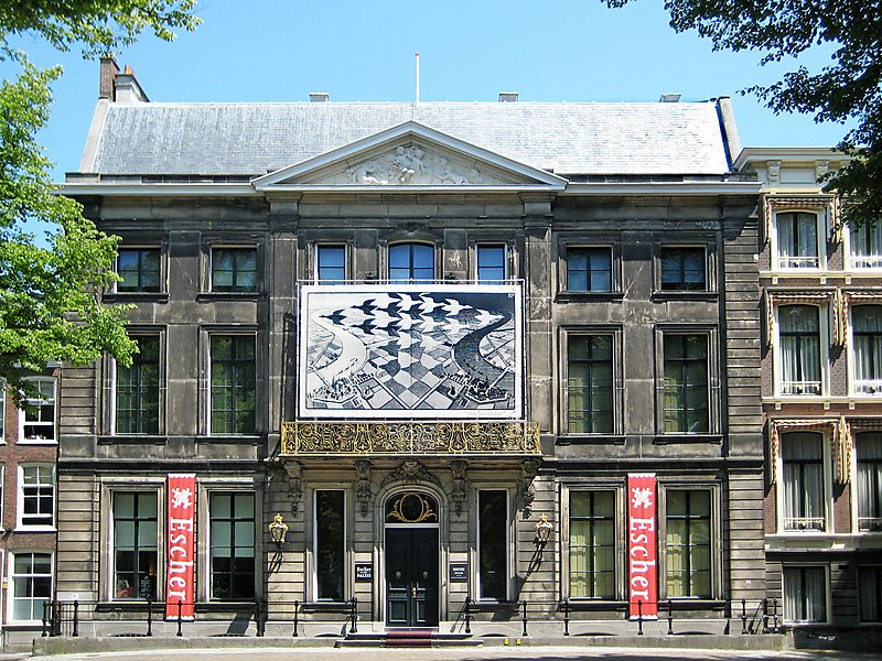 Casa de Escher na Lange Voorhout, em Haia, na Holanda