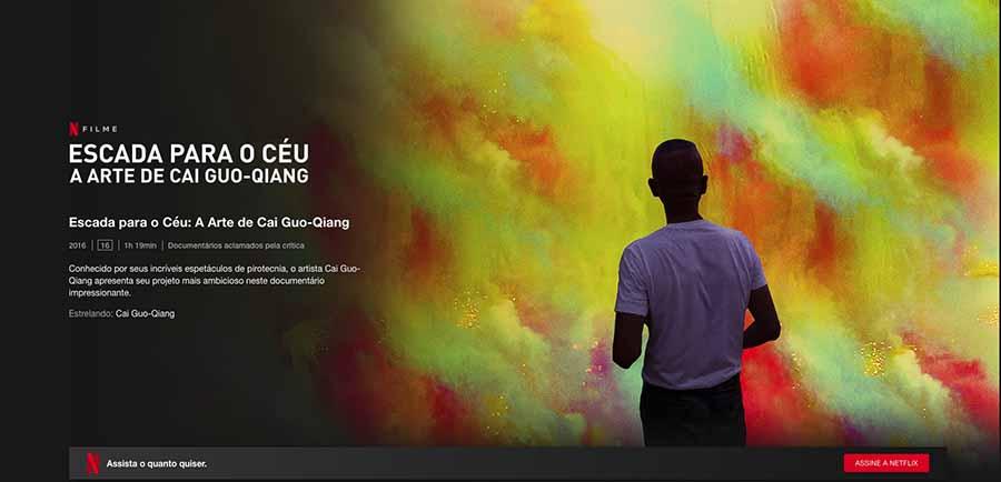 escada para o ceu, documentários sobre arte