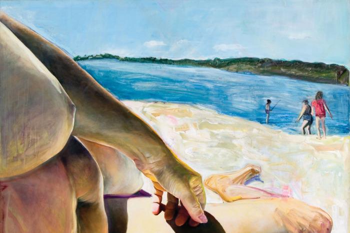 Beachbody, by Joan Semmel, 1985
