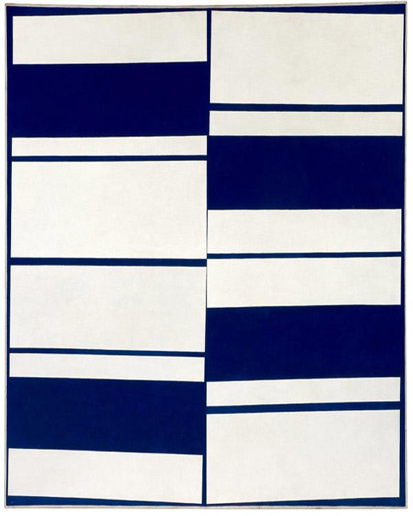 arte abstrata; ivan serpa; Faixas Ritmadas (1958)
