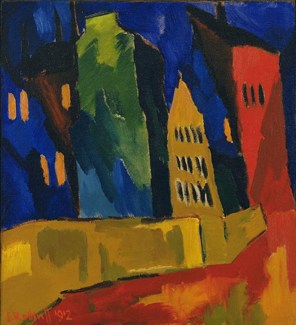 Houses at Night (1912)