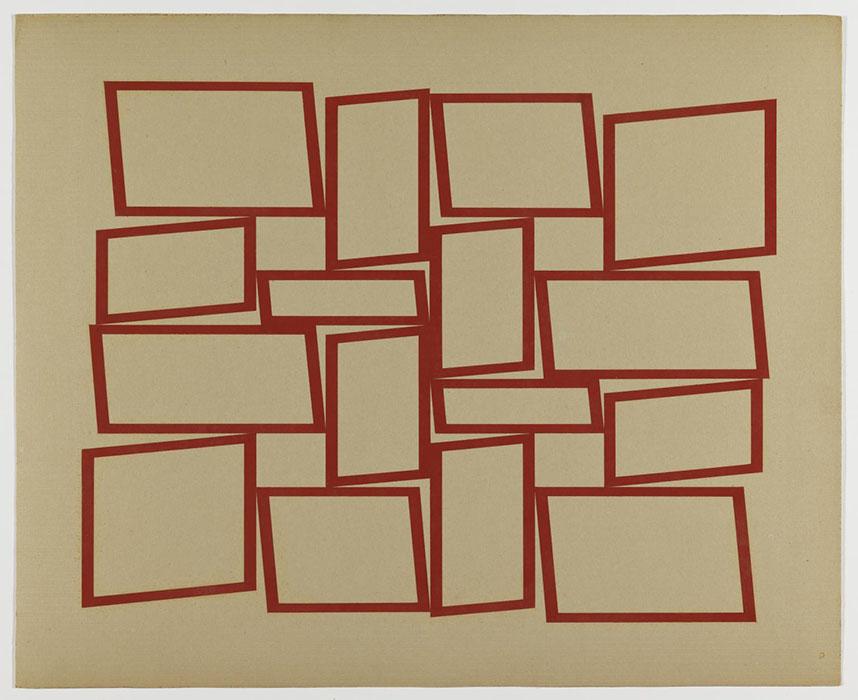 arte abstrata; hélio oiticica; Metaesquema (1958)