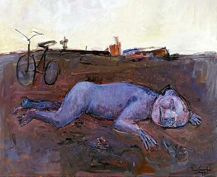 arte abstrata; iberê camargo; No vento e na terra (1991)