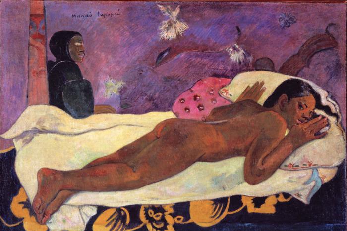 Spirit of the Dead Keeps Watch, by Paul Gauguin