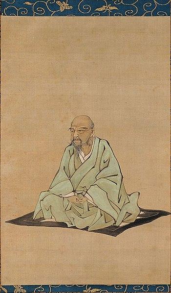 Itō Jakuchū por Kubota Beisen
