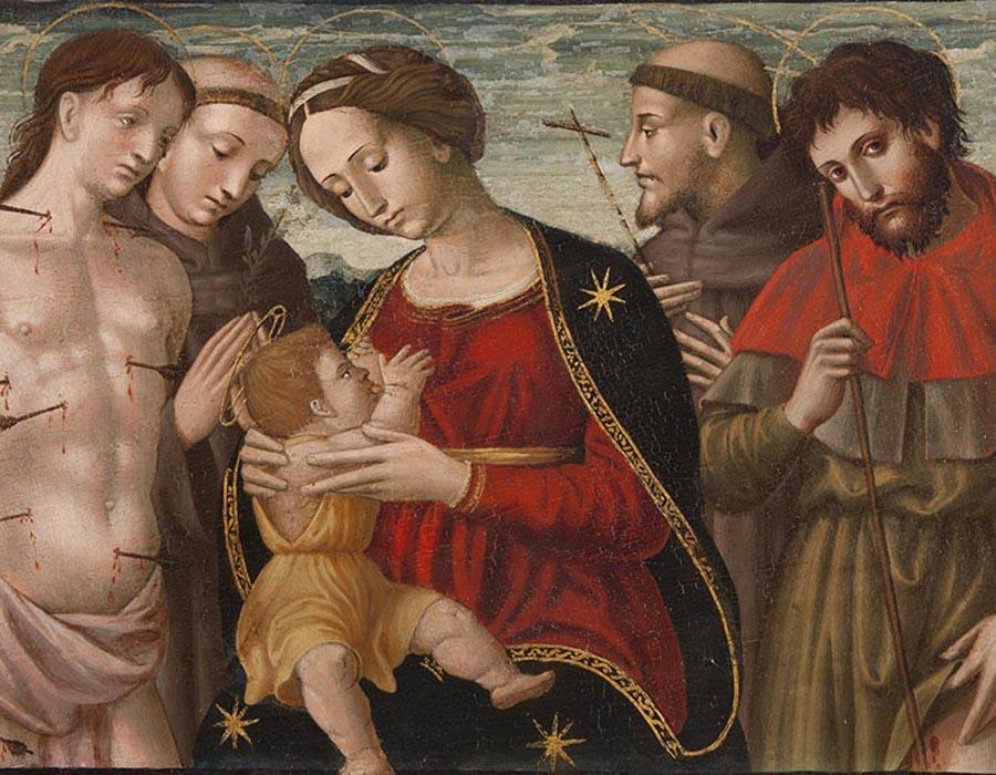 Como São Francisco  de  Assis foi retratado pelos  mestres italianos