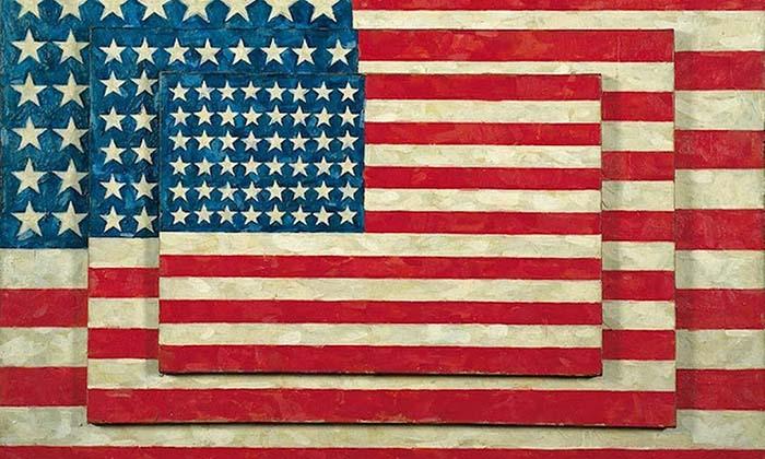 Jaspar Johns - Flag