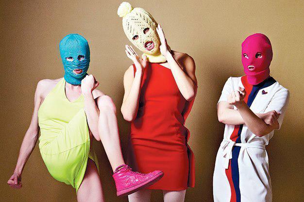 PussyRiot - artistas que elevam o feminismo